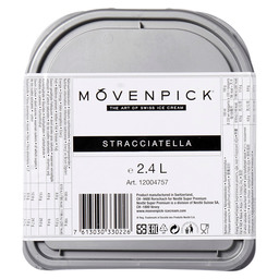 ICE STRACCIATELLA MOVENPICK ALL NATUR.