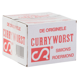 CURRY SUSAGE ORG.110 GR