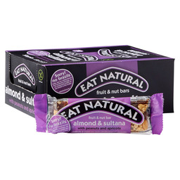 EAT NATURAL BAR 50GR  BRAZILS/SULT./ALM.