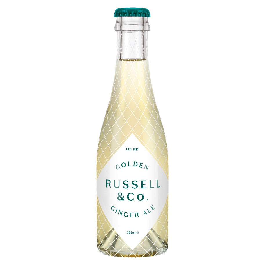 RUSSELL&CO GOLDEN GINGER ALE 200ML
