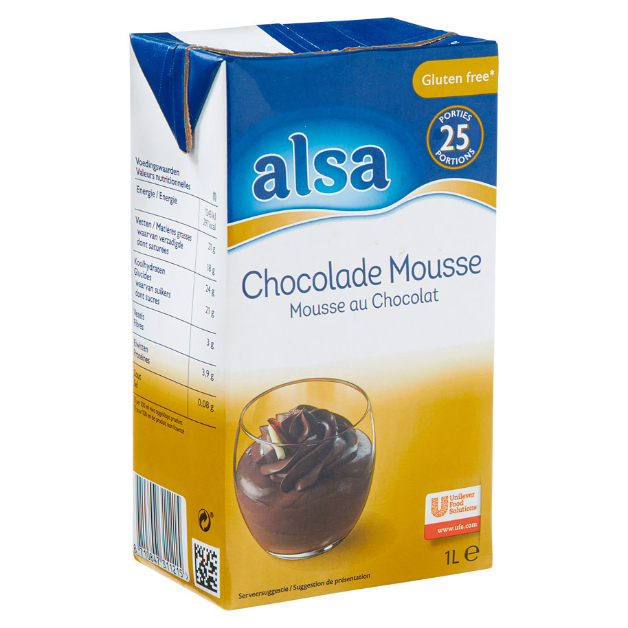 MOUSSE CHOCOLADE  TOUCHE