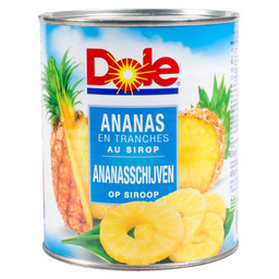 ANANAS 8 SCHIJF      UITLEK DOLE L/S 8