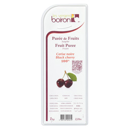 PUREE BLACK CHERRY CERISE NOIR