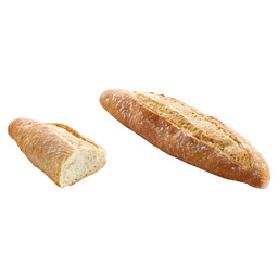 BREAD BARRA GALLEGA MEDIA WHITE 125GR