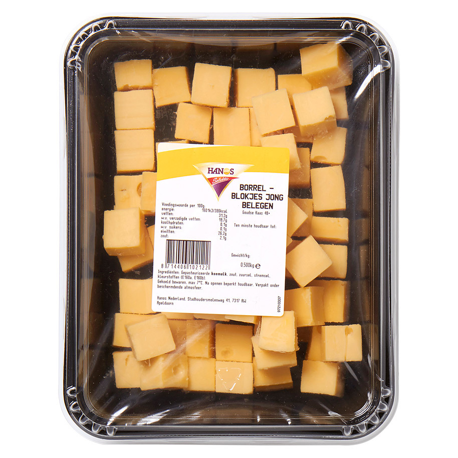 CHEESE COCKTAIL BLOCK YOUNG AGED