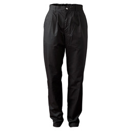 CHEF'S PANTS EASY CARE BLACK MT 58