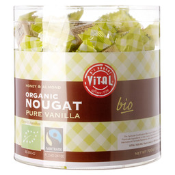 NOUGAT VANILLE BIO/FAIRTRADE