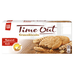 TIME OUT NATUREL  GRANENBISCUITS 171GR