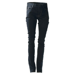 KOKSBROEK SKINNY DENIM ZWART 32