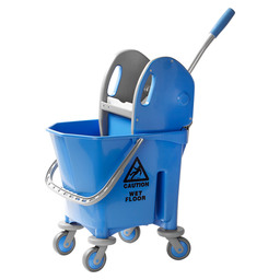 Mop trolley plastic 1 x 25 liter +press