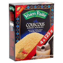 COUSCOUS COOK IN BAGS 4X125 GR