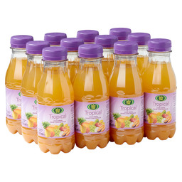 TROPICAL JUICE 33CL PET JUICE TREE