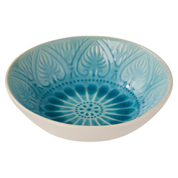 PLATE DEEP VERSAILLES 21X6CM TURQUOISE