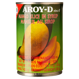 MANGO IN SYRUP SLICE  AROY-D