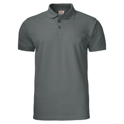 POLO SURF PRO RSX PIQUE  STAAL GRIJS S