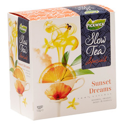 THEE SUNSET DREAMS  PICKWICK SLOW TEA