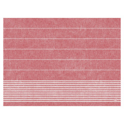 PLACEMAT PAPER 30X40CM TOWEL RED