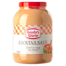 COCKTAILSAUS  GOUDA'S GLORIE