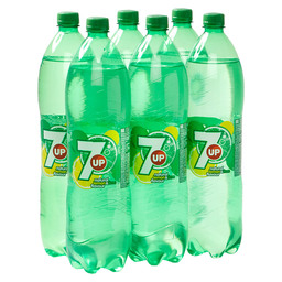 SEVEN UP 1,5L PET LEMON LIME