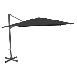 PATIO UMBRELLA EIFEL 3X3 GREY/BLACK