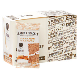 CRACKER CINNAMON& ALMOND BIO GLUTEN-FREE