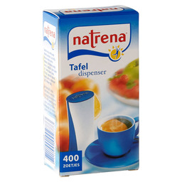 NATRENA TABLE DISPENSER SWEETENER CLASS.