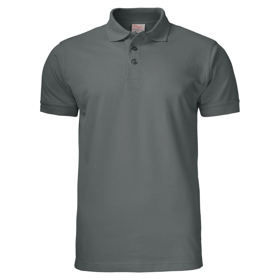 POLO SURF PRO RSX PIQUE  STAAL GRIJS XXL