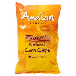 CORN CHIPS NATUREL AMAIZIN BIO