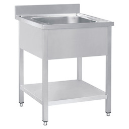 RINSE TABLE 700X700X900 1 COOKING MIDDEN