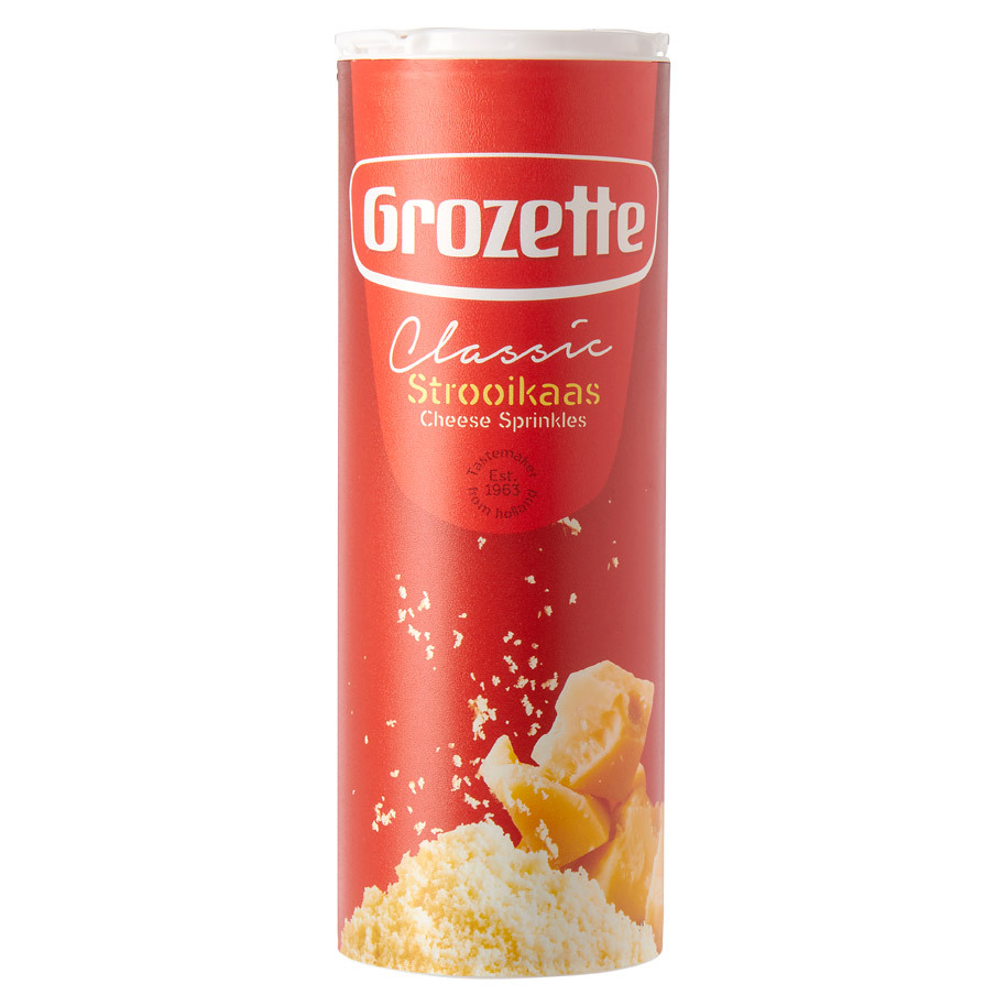 GROZETTE FROMAGE A SAUPOUDRER