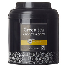 LOOSE TEA TIN GREEN TEA LEMONGRASS GINGE