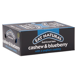 EAT NATURAL BAR 45GR CASHEW/BLUEBER/YOGH