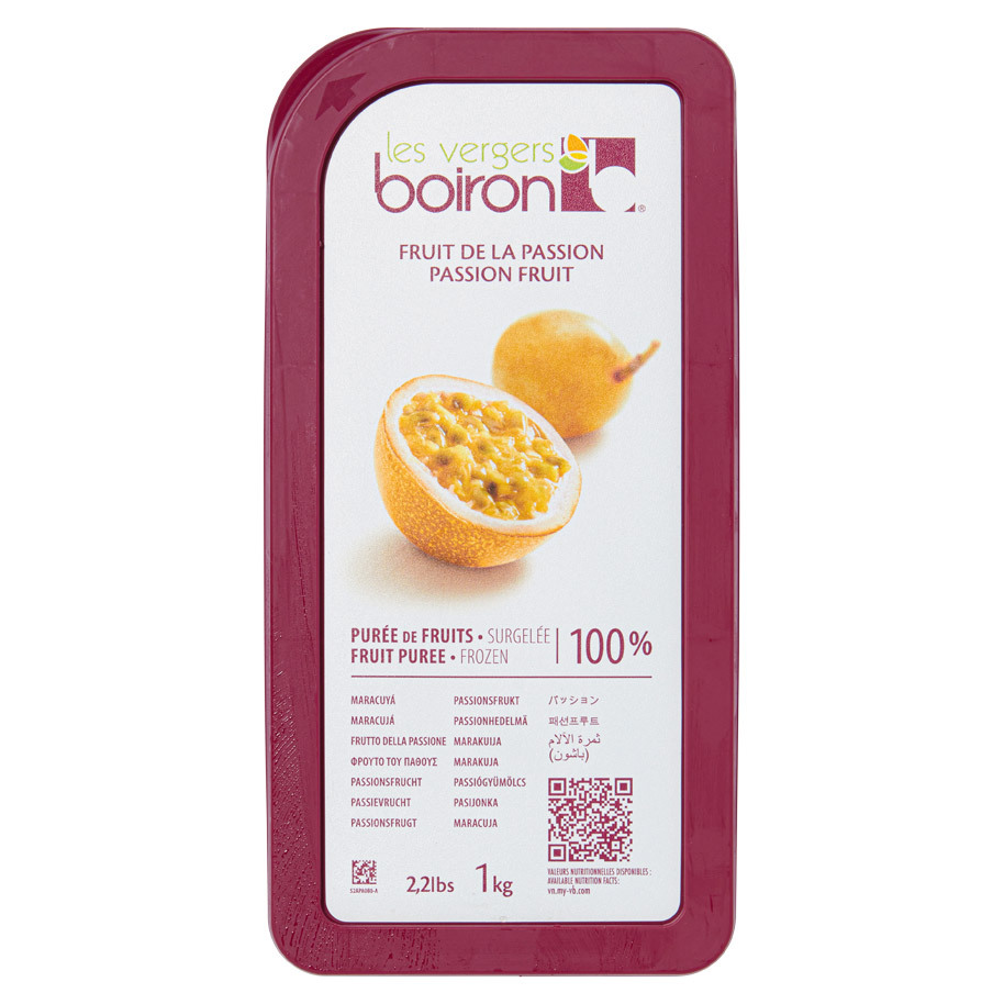 FROZEN FRUIT PUREE 100%: PASSION FRUIT 1