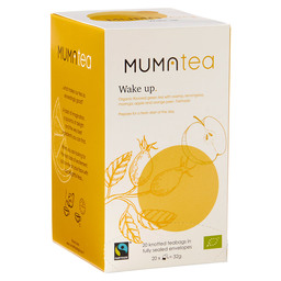 WAKE UP: ORGANIC FLAVORED GREEN TEA WITH