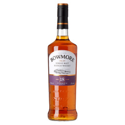 BOWMORE 18Y ISLAY SINGLE MALT
