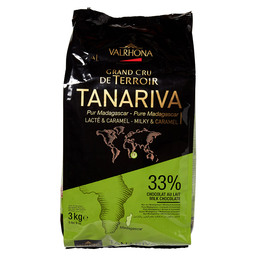 FEVES TANARIVA 33 VALRHONA