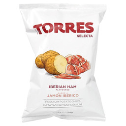 POTATO CHIPS WITH IBERIAN HAM FLAVOURING