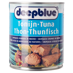TONIJN SKIPJACK CHUNKS IN BRINE D.BLUE