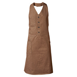 BIB APRON BISTRO MUD DENIM W100-L85