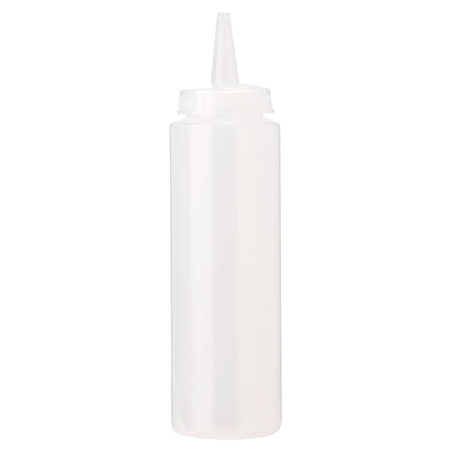 SQUEEZE BOTTLE 20 CL CLEAR