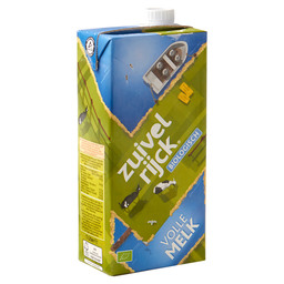 MILK FULL CREAM ORGANIC LONG-LIFE
