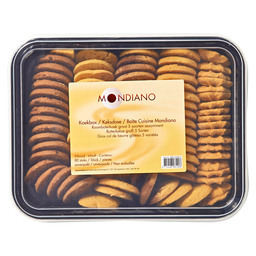 BUTTER BISCUIT LARGE 5 ASS.80ST MONDIAN