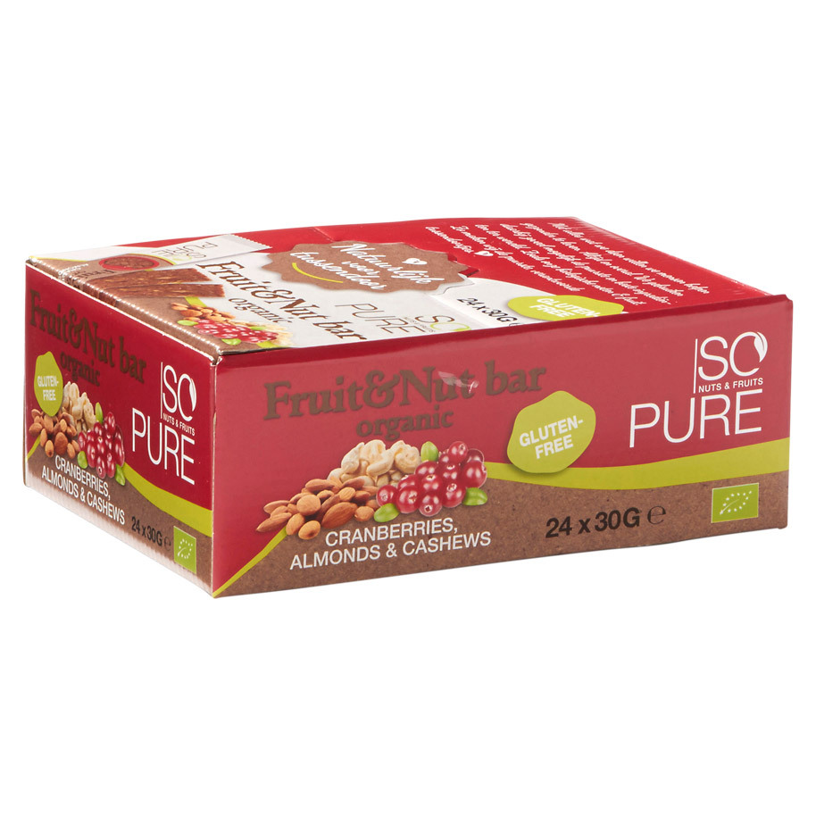 SOPURE REEP FRUIT NUT CRANBERRY BIO 30GR