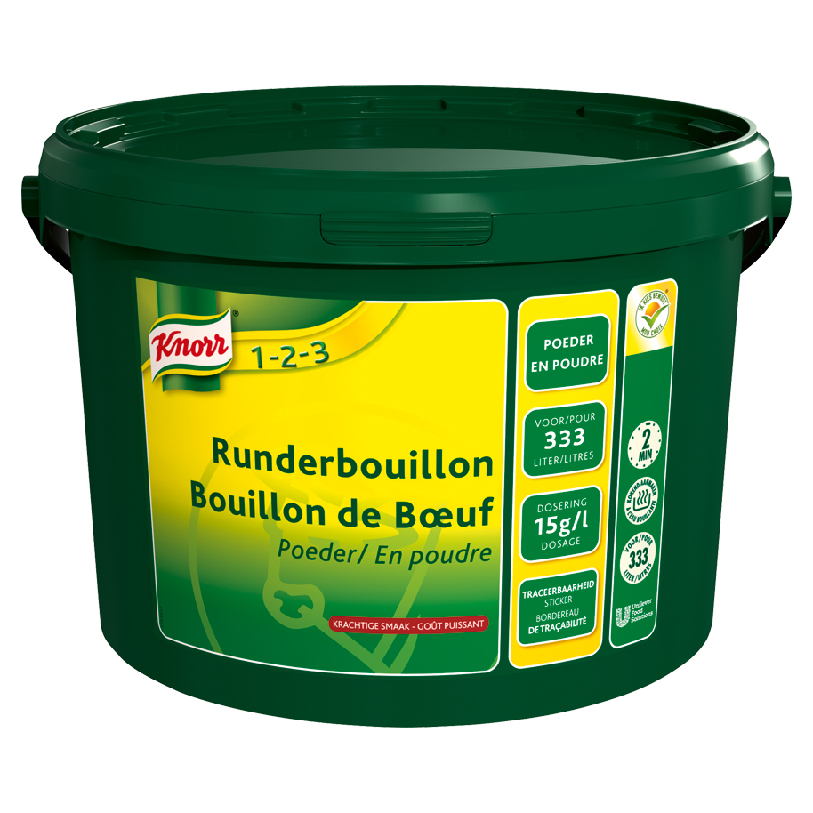 BEEF STOCK POWDER KNORR 333L