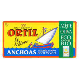 ANCHOVIES IN ORGANIC OLIVE OIL
