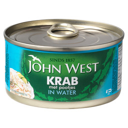 KRABSTUKKEN IN WATER