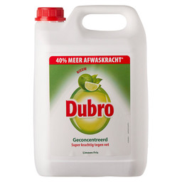 DISHWASHING LIQUID LIME FRESH DUBRO