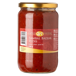 SAMBAL BATHROBE PEDIS GOLD MEDAL