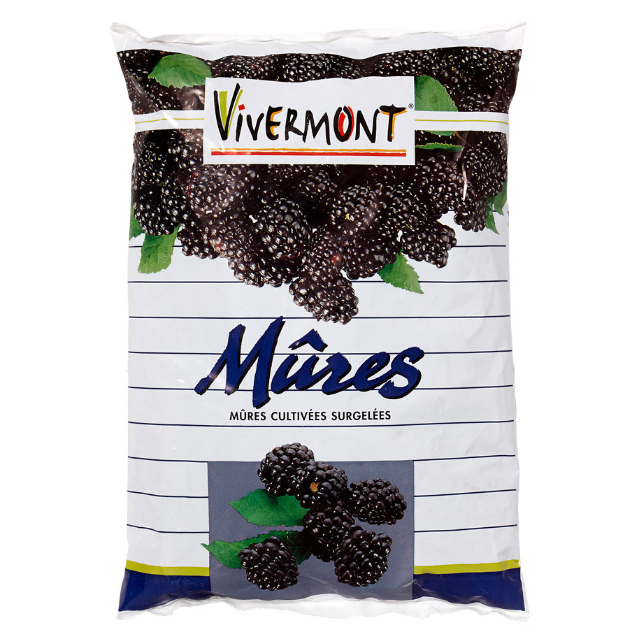BLACKBERRIES CULTIVATED MURES CULTIVEES