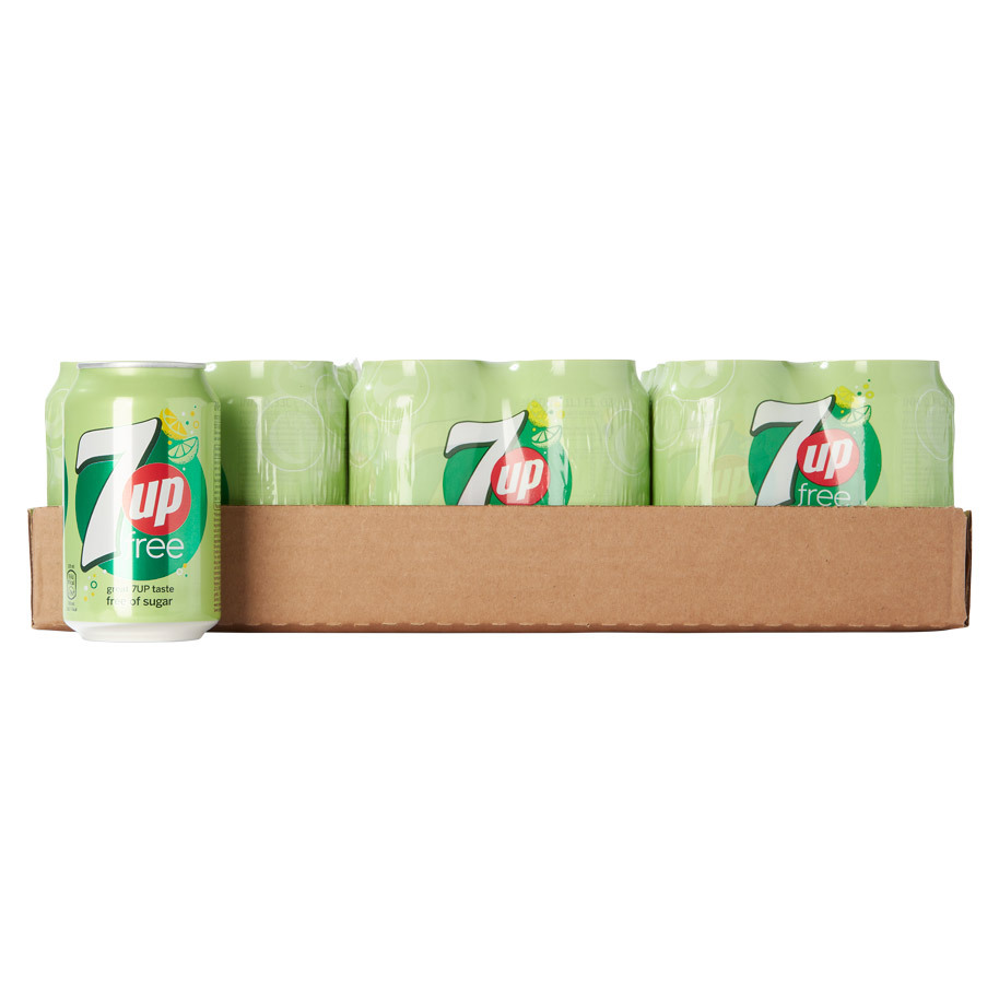 SEVEN-UP FREE 33CL VERV. 2128160